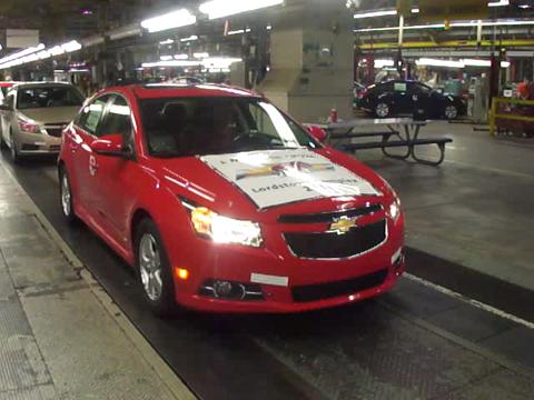 Lordstown-Builds-Millionth-Cruze