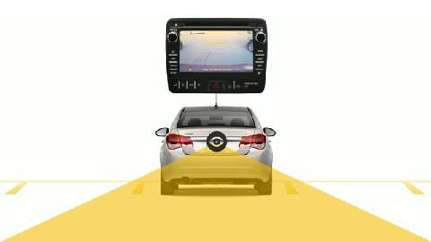 Rear-View-Camera-Animation